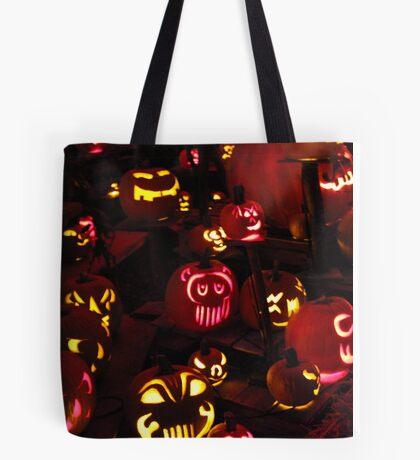 Jack-O-Lanterns 6 Tote Bag