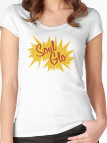 Soul Glo Women's Fitted Scoop T-Shirt