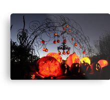 Jack-O-Lanterns 8 Metal Print