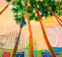 Las Vegas Palm Trees by susan stone