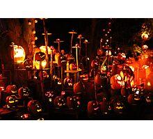 Jack-O-Lanterns 9 Photographic Print