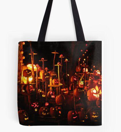 Jack-O-Lanterns 9 Tote Bag