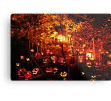 Jack-O-Lanterns 10 Metal Print