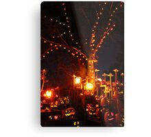 Jack-O-Lanterns 11 Metal Print