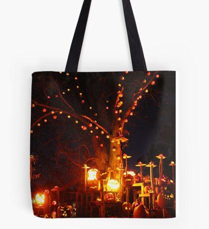 Jack-O-Lanterns 11 Tote Bag
