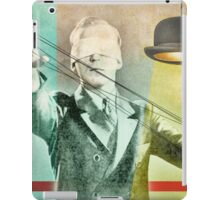 blindfold bowler iPad Case/Skin