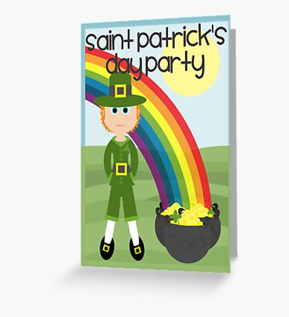 Saint Patrick's Day - Party Invitation Greeting Card