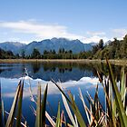 Lake Matheson, South Island by Kevin Hellon