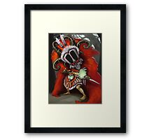 Witch Doc Framed Print