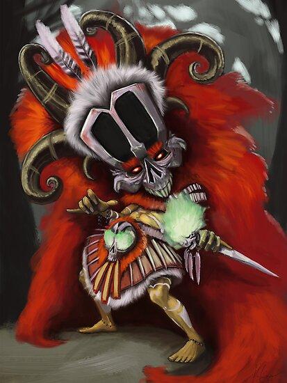 Witch Doc by KurtisAikins