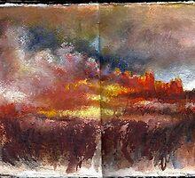 Altered Sketchbook, Whitechapel by Cameron Hampton