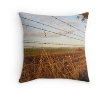 Boundary Throw Pillow