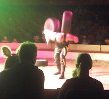 Circus/Russian Strongman IV -(150413)- Digital photo/FujiFilm AX350 by paulramnora