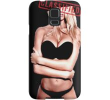Classified - Sunset girl Samsung Galaxy Case/Skin