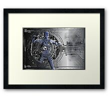 robotic futures a Framed Print