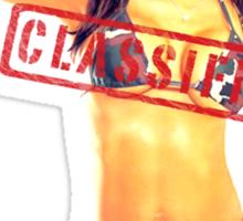 Classified - Little Militia  Sticker