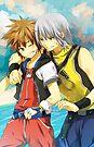 Kingdom Hearts by banafria
