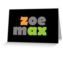 Team Zax [2] Greeting Card