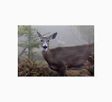 Through the fog - White-tailed Deer Unisex T-Shirt