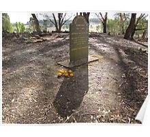 Desolate Pennyweight Flat Cemetery Poster