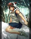 Princess Mononoke by banafria