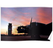 North Texas Regional Airport - B17 Poster