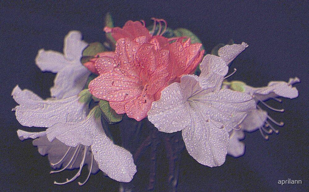 Neon Azalea Bouquet by aprilann