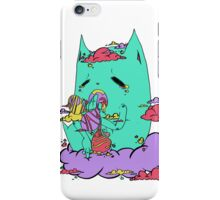 [tired kitty] iPhone Case/Skin