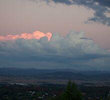 hillside sunset by peterhau