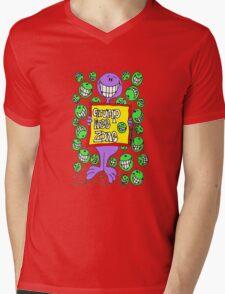 Grump Free Zone Mens V-Neck T-Shirt