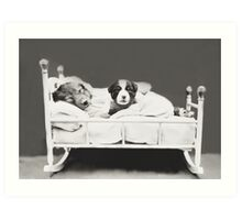 Harry Whittier Frees - The Insomniac Puppy Art Print