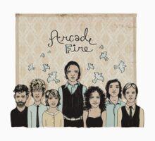 Arcade Fire Illustration by tcounihan
