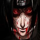 On Death's Bed- Itachi iPhone Case by squidkid