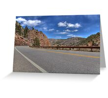 Highway 36 Greeting Card