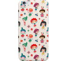 Happy Girls iPhone Case/Skin