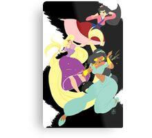 Super Princesses  Metal Print