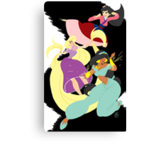 Super Princesses  Canvas Print