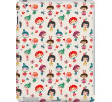 Happy Girls iPad Case/Skin