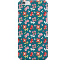 Butterflies and Flowers  iPhone Case/Skin