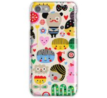 Happy Faces iPhone Case/Skin