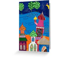 Roofs Greeting Card