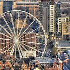 Leeds Observation Wheel (OWL) And BBC Leeds by andyj81