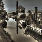 Hovis Mill , Macclesfield Canal, Cheshire by Matt Eagles