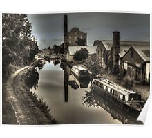 Hovis Mill , Macclesfield Canal, Cheshire Poster
