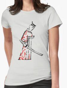 Ink Samurai Womens Fitted T-Shirt