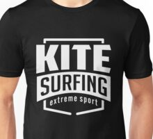 Kite Surfing B&W Unisex T-Shirt