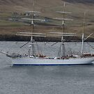 Statsraad Lehmkuhl big ship by Craig  Meheut
