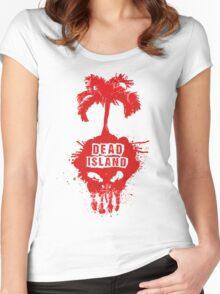 Beach Games TV Dead Island series Women's Fitted Scoop T-Shirt