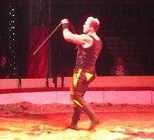Circus/Russian Strongman VI -(150413)- Digital photo/FujiFilm AX350 by paulramnora