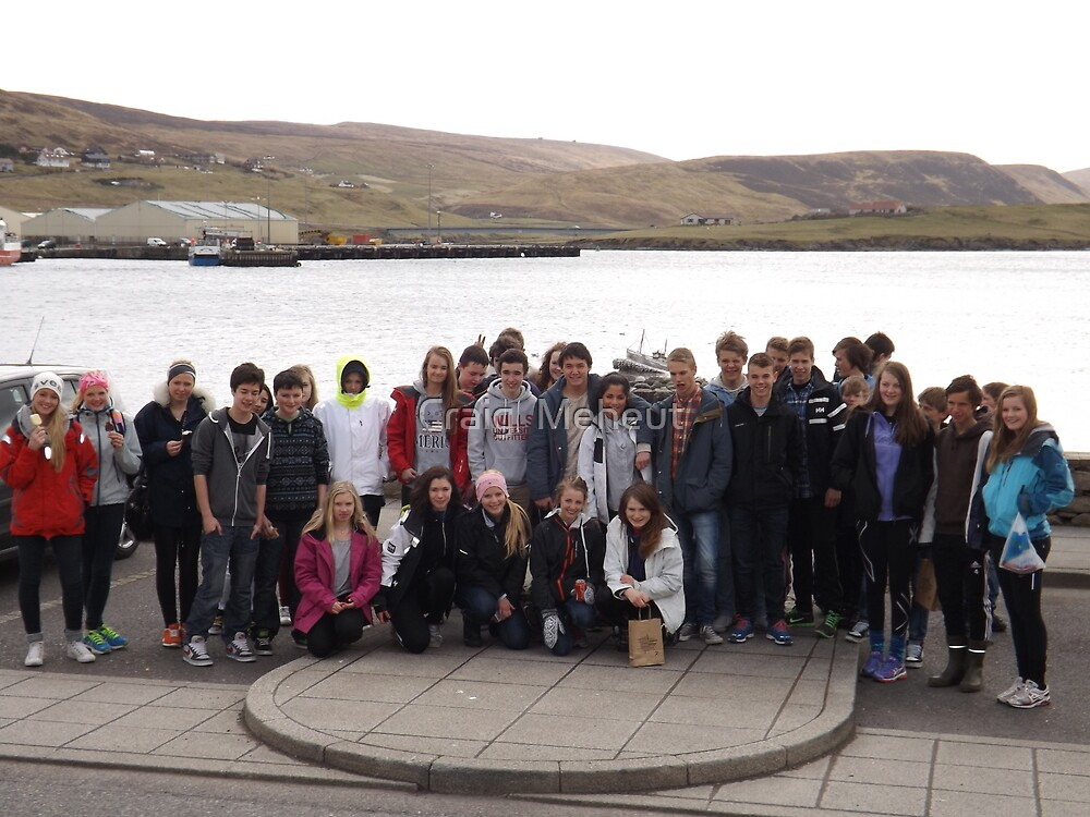 norwegians at the shetland bus momoreal by Craig  Meheut